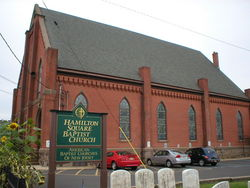 Hamilton Square Baptist Church Cemetery