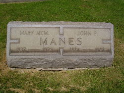 Mary Ann <i>McMillan</i> Manes