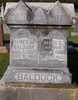 Myra Ellen <i>Gilpin</i> Baldock