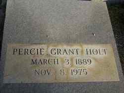 Percie <i>Grant</i> Holt