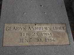 Gladys Andrews Holt