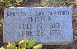 Rebecca Clack <i>Burford</i> Brister