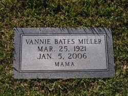 Vannie Bates-Miller