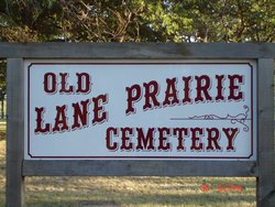 Old Lane Prairie Cemetery