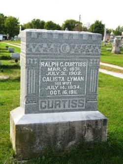 Calista May <i>Lyman</i> Curtiss