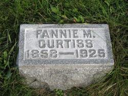 Fannie M <i>Rohrer</i> Curtiss