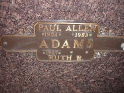 Paul Allen Adams