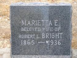Marietta Elvira <i>Ducot</i> Bright