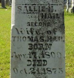 Sallie H. <i>Shenton</i> Hail