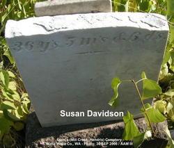 Susanah Susan <i>Brooks</i> Davidson