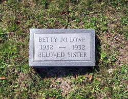 Betty Jo Lowe