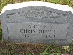 Alice R Christopher