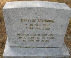 Meryluz Afanador