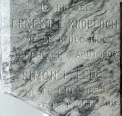 Ernest Edouard Knobloch