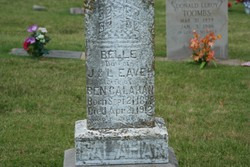 Belle <i>Eaves</i> Callahan