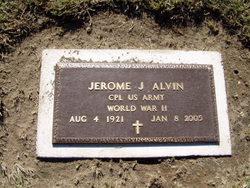Jerome J Jerry Alvin