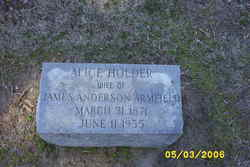 Alice <i>Holder</i> Armfield