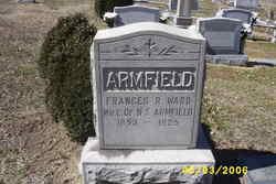 Frances R <i>Ward</i> Armfield