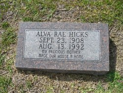 Alva Rae Hicks