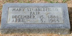 Mary Glenn <i>Stubblefield</i> Fair