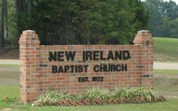New Ireland Baptist Church Cemetery