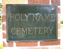 Holy Name Cemetery
