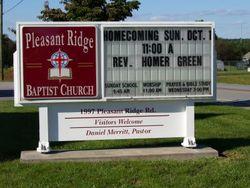 Pleasant Ridge Baptist Church Cemetery