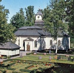 Gamla kyrkog�rden (The Old Churchyard)