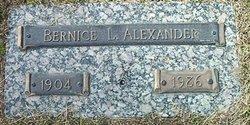 Bernice L. Alexander