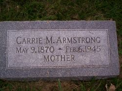 Carrie M. Armstrong