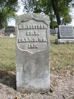 Pvt C. Ernst Bertram