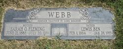 Lewis Ben Webb