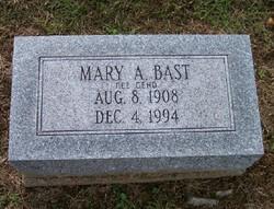 Mary A <i>Geho</i> Bast