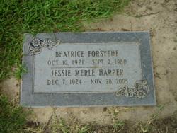 Beatrice Forsythe