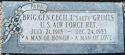 Gen Cecil I. Salty Grimes