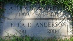 Ella Dora <i>Sterner</i> Anderson
