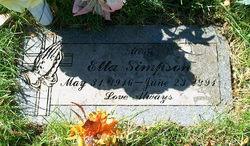 Etta May <i>Cooper</i> Simpson