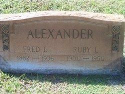 Ruby L. Alexander