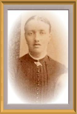 Johanna Erika <i>Eriksson</i> Bergqvist