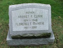 Florence Estelle <i>Clark</i> McHose