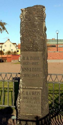 Anna <i>Hedberg</i> Dahl