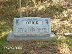 Sherman F Orick