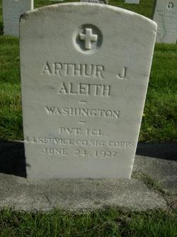 Arthur J Aleith