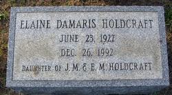 Elaine Demaris Holdcraft