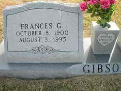 Frances G. Gibson