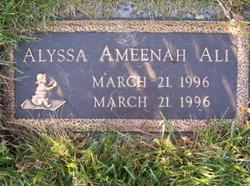 Alyssa Ameenah Ali