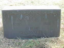 Myrtle F. Snyder