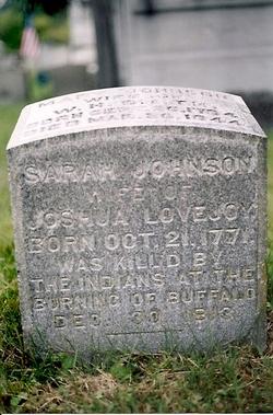 Sarah <i>Johnson</i> Lovejoy