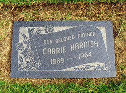 Martha Caroline Carrie <i>Holmes</i> Harnish