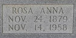 Rosa Anna <i>Parkerson</i> Scoggins